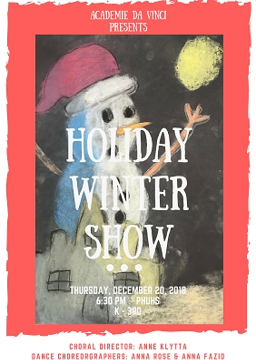 K - 3rd Winter Show USB