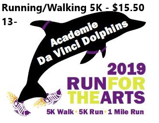 Running or Walking 5K - Ages 13 and younger