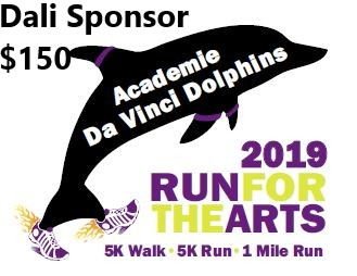 Run For the Arts - Sponsor - Dali