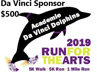 Run For the Arts - Sponsor - Da Vinci