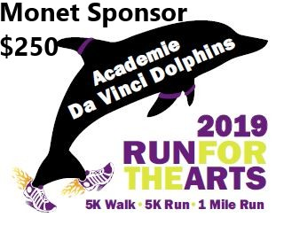 Run For the Arts - Sponsor - Monet