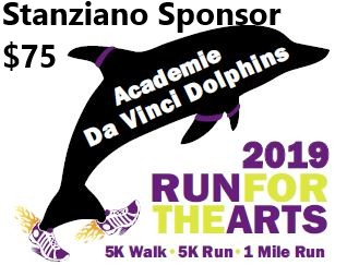 Run For the Arts - Sponsor - Stanziano